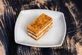 Millefoglie pastry Royalty Free Stock Photo