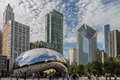 Millenium Park Chicago Royalty Free Stock Photo