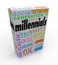 Millennials Product Box Package Youth Generation Y Marketing