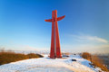 Millennium Cross in Gdansk Royalty Free Stock Image