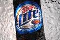 Miller Lite beer Royalty Free Stock Photo