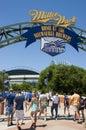 Miller Park Milwaukee Brewers MLB Baseball Royalty Free Stock Photo
