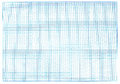 Millimeter blue graph paper real photo Royalty Free Stock Photography