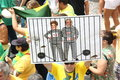 Millions of brazilians call for the impeachment of dilma rousseff rio de janeiro brazil march took to streets to protest against Royalty Free Stock Photo