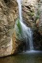 Millomery waterfall Cyprus Royalty Free Stock Photo