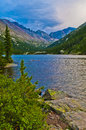 Mills Lake Colorado Stock Photography