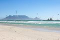 Milnerton Beach in Cape Town Royalty Free Stock Photography