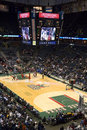 Milwaukee Bucks NBA Basketball Bradley Center Royalty Free Stock Photography