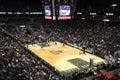 Milwaukee Bucks NBA Basketball Bradley Center Royalty Free Stock Photo