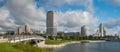 Milwaukee City Skyline Royalty Free Stock Photo