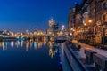 Milwaukee riverwalk Royalty Free Stock Photo