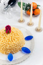 Mimosa Cake Stock Photography