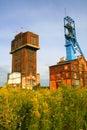 Mina de carbón vieja Foto de archivo libre de regalías