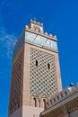 A minaret Royalty Free Stock Photo