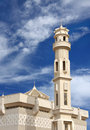Minaret of Abdullah Bin Darwish Fakhroo Mosque Stock Photos