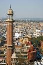 Minaret in Delhi Stock Images