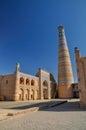 Minaret in Khiva Royalty Free Stock Photo
