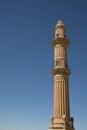 Minaret in mardin soaring mosque turkey Royalty Free Stock Images