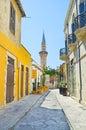 The minaret Royalty Free Stock Photo