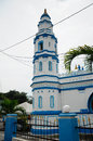 Minaret of panglima kinta mosque in ipoh perak malaysia – january masjid is an old located on the east bank the river right Stock Photography