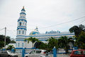 Minaret of panglima kinta mosque in ipoh perak malaysia – january masjid is an old located on the east bank the river right Stock Images