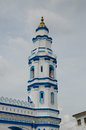 Minaret of panglima kinta mosque in ipoh perak malaysia – january masjid is an old located on the east bank the river right Royalty Free Stock Images