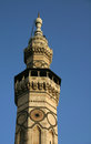 The minaret of qaitbay at umayyad mosque also known as great mosque damascus syria Stock Image