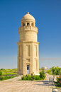 Minaret in turkmenistan scenic merv central asia Royalty Free Stock Image