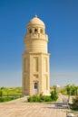 Minaret in Turkmenistan Royalty Free Stock Photo