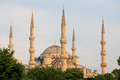 Minarets domes sultan ahmet mosque also known as blue mosque istanbul turkey sultanahmet district Stock Photo