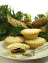 Mince tarts 1 Royalty Free Stock Photos