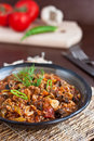 Minced meat stew Stock Images