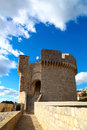 Minceta Tower which is defending old Dubrovnik Royalty Free Stock Image