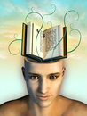 Mind food Royalty Free Stock Images