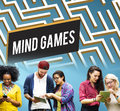 Mind Games Strategy Maze Solution Concept Royalty Free Stock Photo