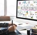 Mindfulness Optimism Relax Harmony Concept Royalty Free Stock Photo
