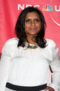Mindy kaling los angeles jan arrives at the nbc tca winter party at langham huntington hotel on january in westwood ca Stock Images