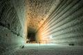 Underground mines. Ukraine, Donetsk Royalty Free Stock Photo