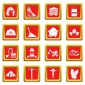 Miner icons set red