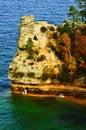 Miner's Castle, Lake Superior, Michigan Royalty Free Stock Photo