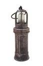 Miner's lamp Royalty Free Stock Photo