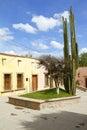 Mineral de pozos ix architecture of the magic town of mexican state of guanajuato Stock Image