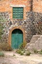 Mineral de pozos xi architecture of the magic town of mexican state of guanajuato Royalty Free Stock Photo