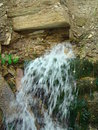 Mineral water spring Royalty Free Stock Photo