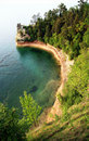 Miners Castle Pictured Rocks Royalty Free Stock Photo