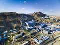 Mines factory in Inner Mongolia China Royalty Free Stock Photo