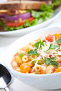 Minestrone soup Stock Photos