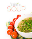 Minestrone vegetable soup Royalty Free Stock Photos
