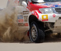 Mini ALL4 races Dakar 2013 Royalty Free Stock Image