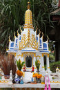 Mini Buddhist temple on the Koh Samui Stock Image